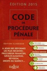 Code de procédure pénal dalloz promo