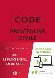 code de procédure civil 2016